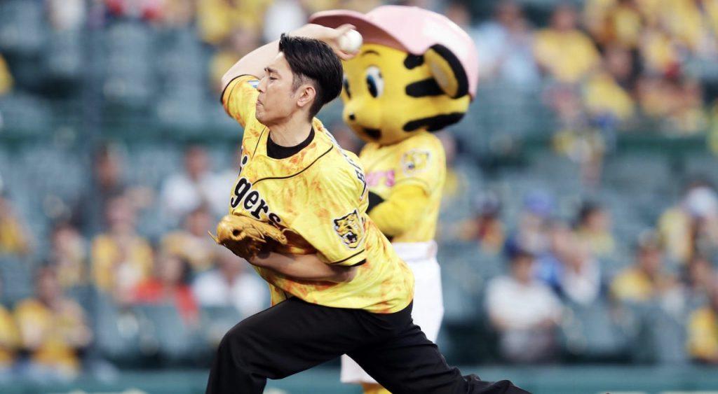 間宮祥太朗の野球人エピソード!始球式で驚愕の豪速球を披露・・・